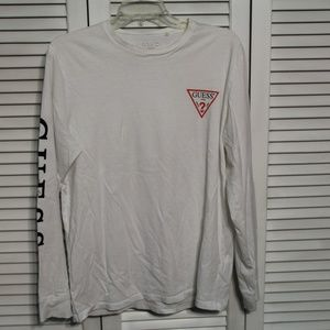 Guess Long Sleeve T-shirt--Size Large
